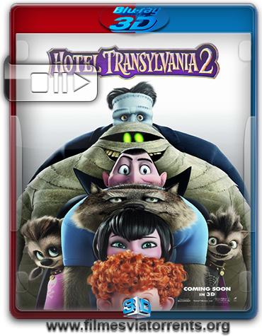 Hotel Transilvânia 2 Torrent - BluRay Rip 1080p 3D HSBS Legendado (2015)