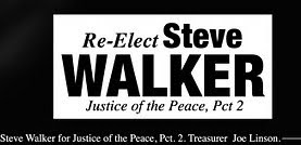 Re-Elect Steve Walker to Pct. 2