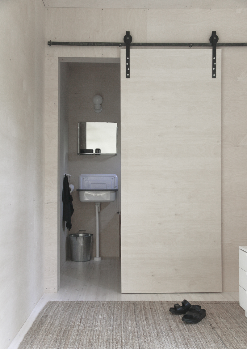 Sliding Bathroom Barn Door