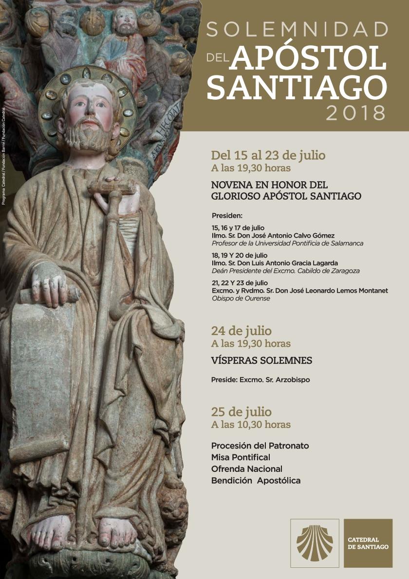 CARTEL SOLEMNIDADE DE SANTIAGO APOSTOL