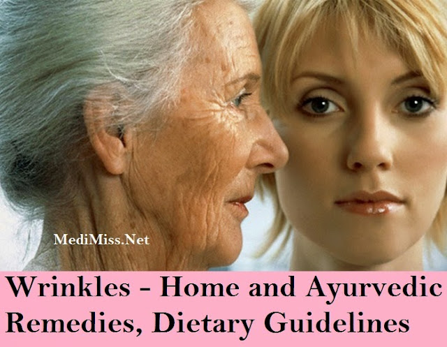 Wrinkles - Home and Ayurvedic Remedies, Dietary Guidelines