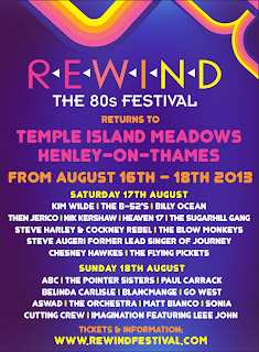 Rewind Henley The 80s Music Festival