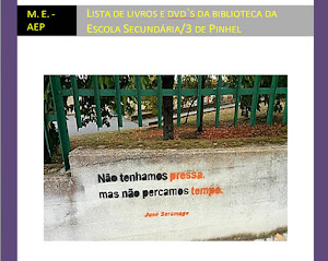 Bibliotecas Escolares- Catálogo Escola Secundária