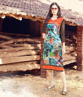 Fancy Kurtis at Moksha Fashions