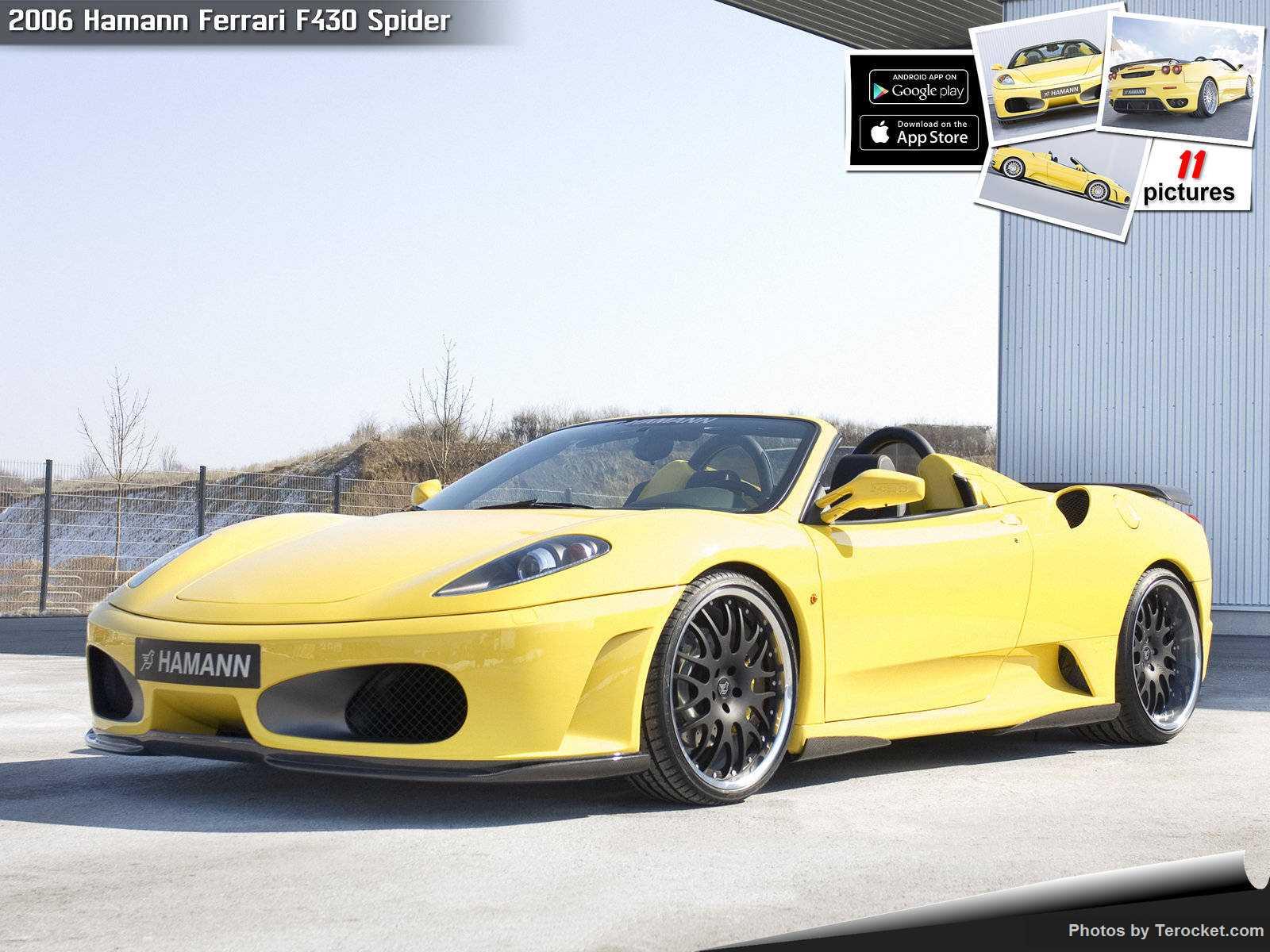 Hình ảnh xe ô tô Hamann Ferrari F430 Spider 2006 & nội ngoại thất