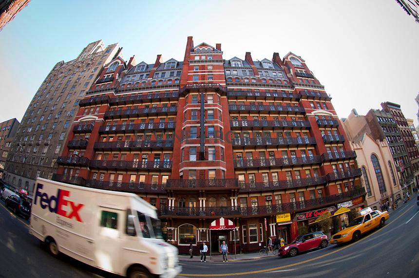 Haunted Chelsea Hotel New York