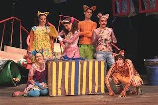 sokak kedileri tiyatrosu