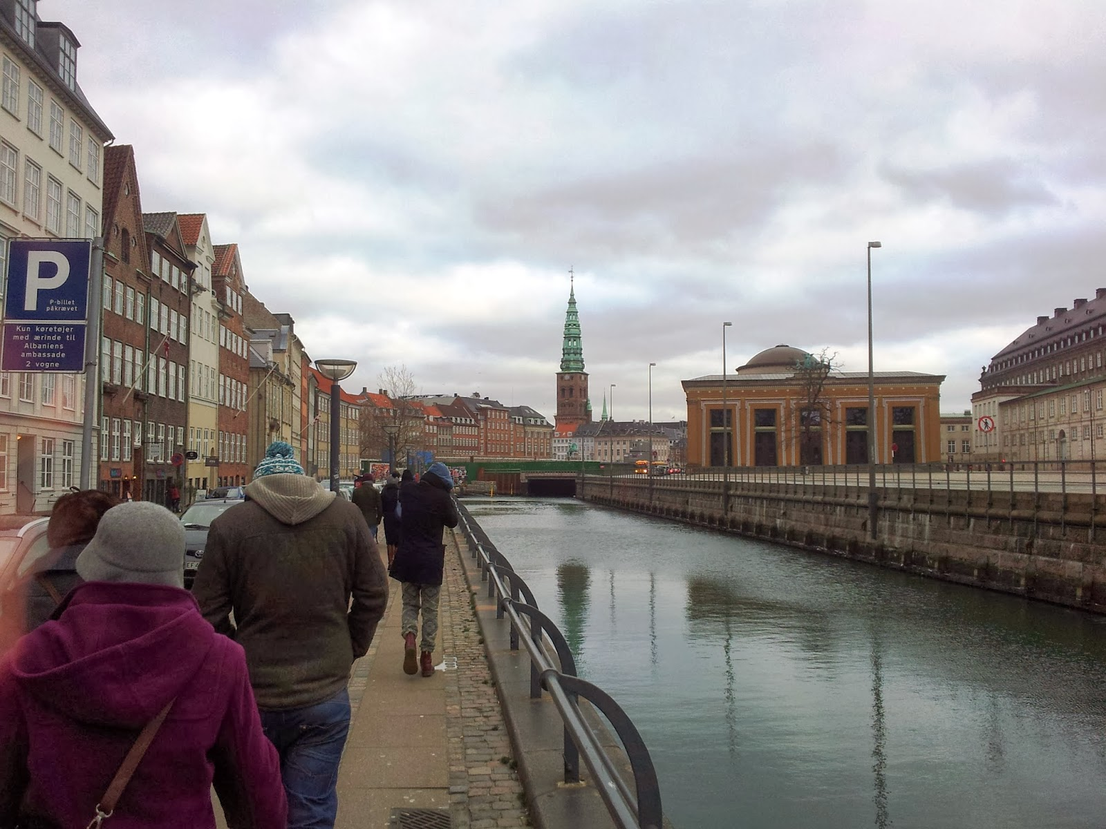 Walking tour in Copenhagen