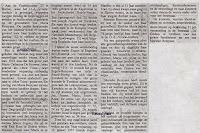 Artikel over de honderdjarige Maria Remeysen 1888-1989. Bron onbekend