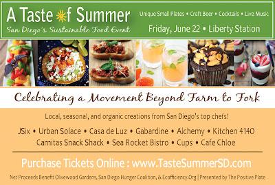 San Diego Event: A Taste of Summer