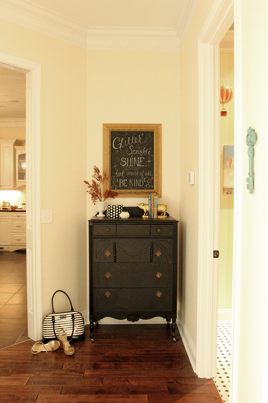 Chalkboard Walls: What\'s Your Take? | Less Than Perfect Life of ...