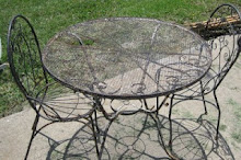 Vintage Iron Patio Set