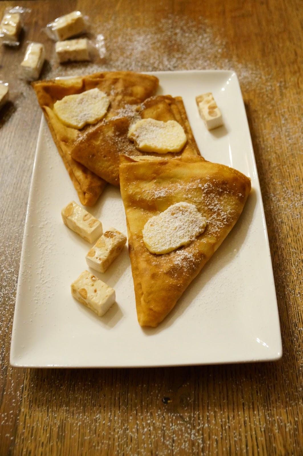 C'est une recette très simple et délicieuse inspirée du livre 100 recettes  de crêpes & gaufres.