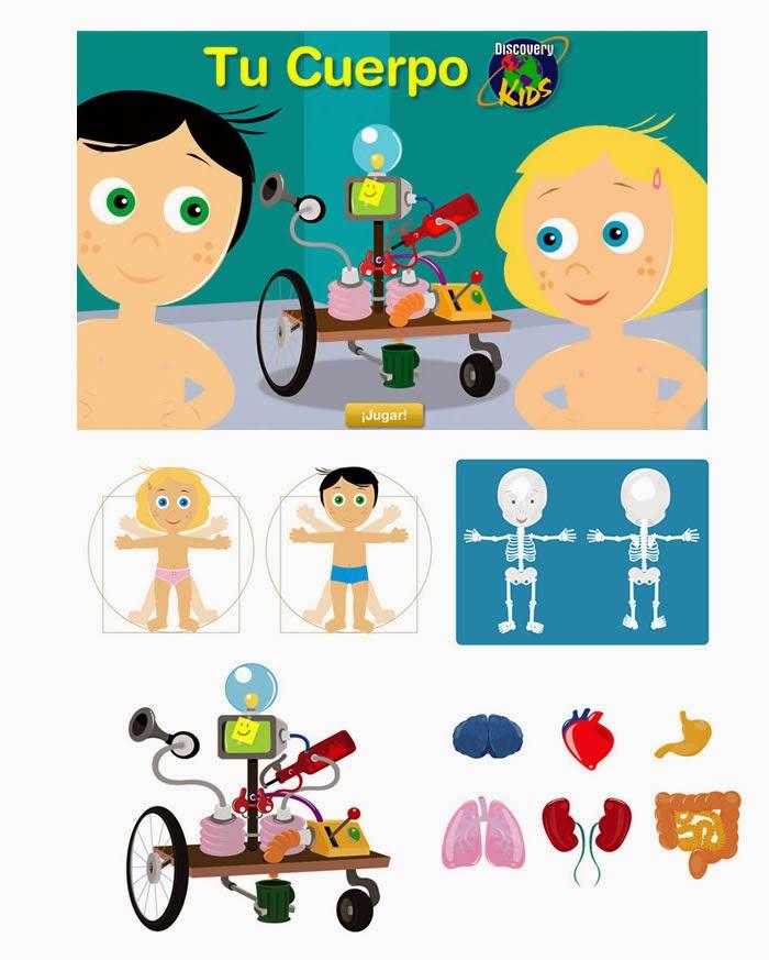 Blog de los niños: Juegos educativos del cuerpo humano