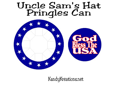 Uncle Sam Patriotic Sparkler Holder