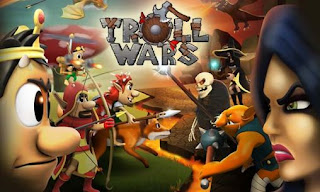 Screenshots of the Troll wars for Android tablet, phone.