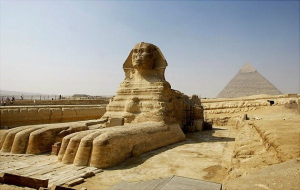 most famous unsolved mysteries of the world Sphinx of Giza, Egypt