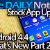 Samsung Galaxy Note 3 Special Feature Episode 2: What's New in Android 4.4 Part 2, Stock App Updates