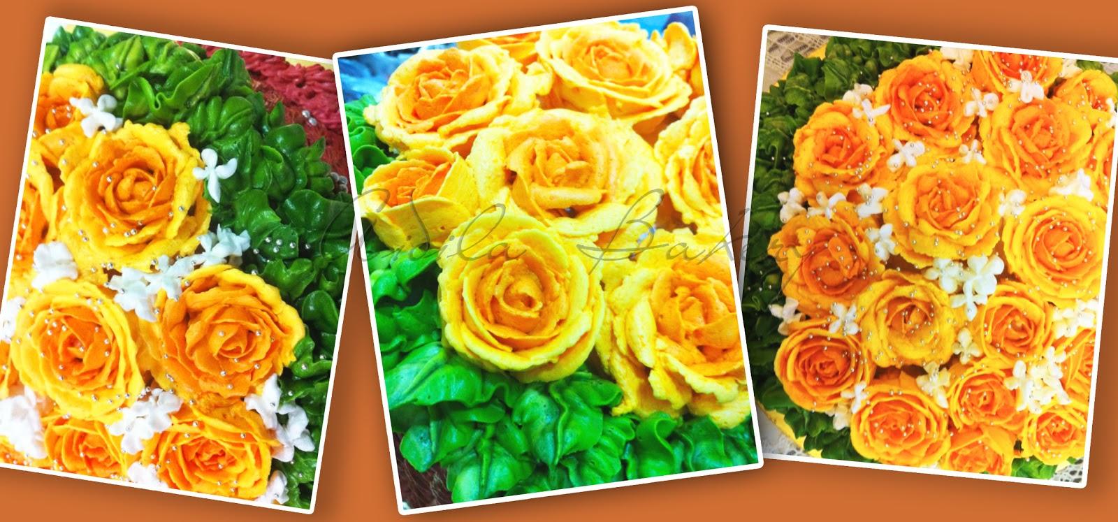 aidilabakery hiasan bunga
