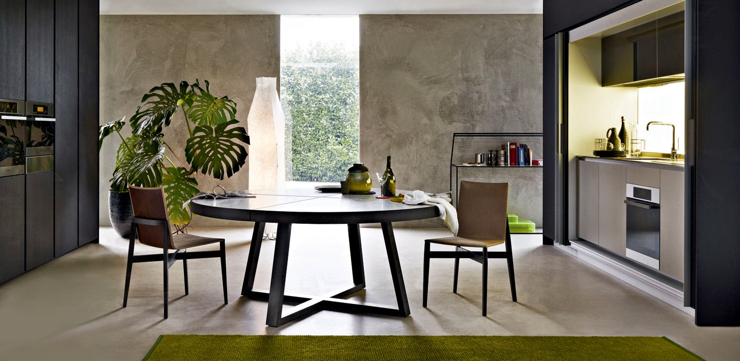 60 round dining table contemporary