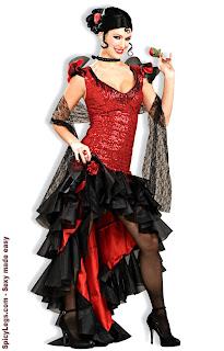 Spanish Dancer Costumes-Cinco De Mayo