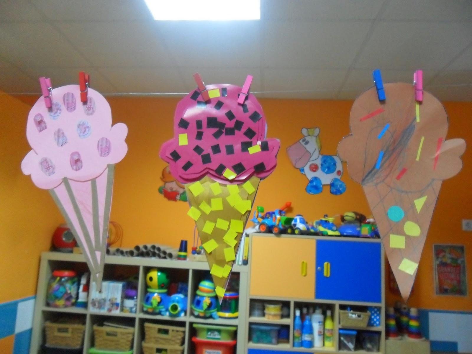Materiales para educaci n infantil verano verano for Decoracion verano para jardin infantil