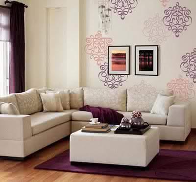 wallpaper dinding lebih unggul dibanding cat tembok