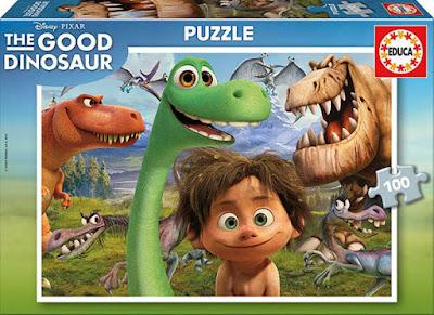 JUGUETES - DISNEY El Viaje de Arlo - Puzzle 100 piezas  Educa | Nueva Película Disney : The Good Dinosaur 2015  A partir de 6 años | Comprar en Amazon España