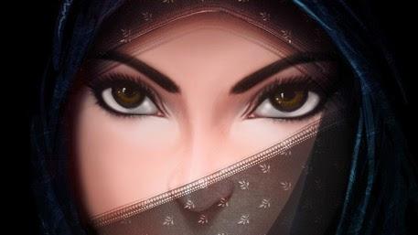 GAMBAR KARTUN CEWEK CANTIK BERJILBAB | Gambar Kartun Gadis Cantik