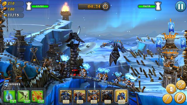 CastleStorm - Free to Siege v1.76 Apk + Datos SD Mod [Dinero]