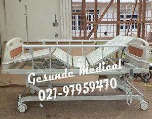 Tempat Tidur Rumah Sakit Elektrik ABS