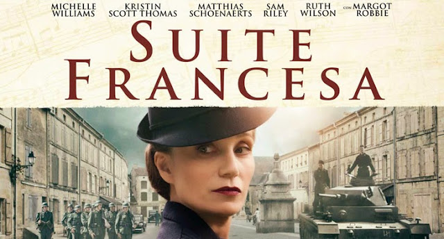 "Cartel de la película ""Suite francesa"", Michelle Williams"