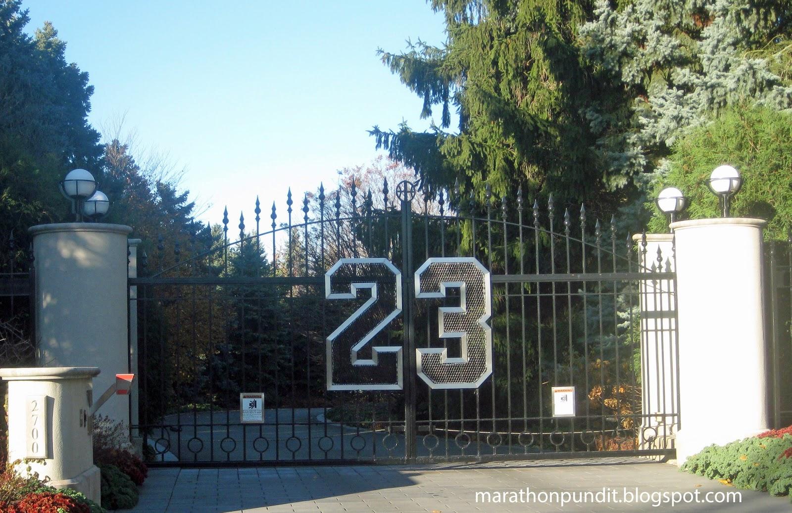 Marathon Pundit Photo 23 Michael Jordan 39 S Front Gate