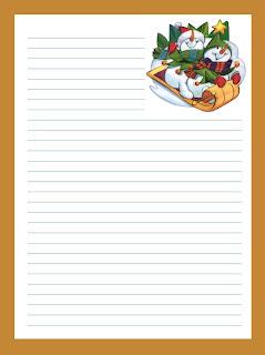 Marco para escribir cartas - Imagui