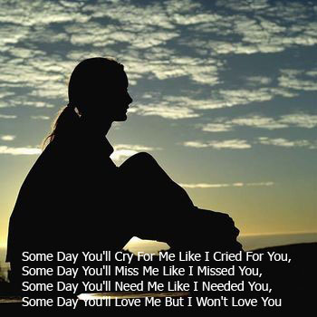 Some Sad Quotes About Love : Sad Love Quotes - Sad Love Quotes that Make You Cry Apihyayan Blog