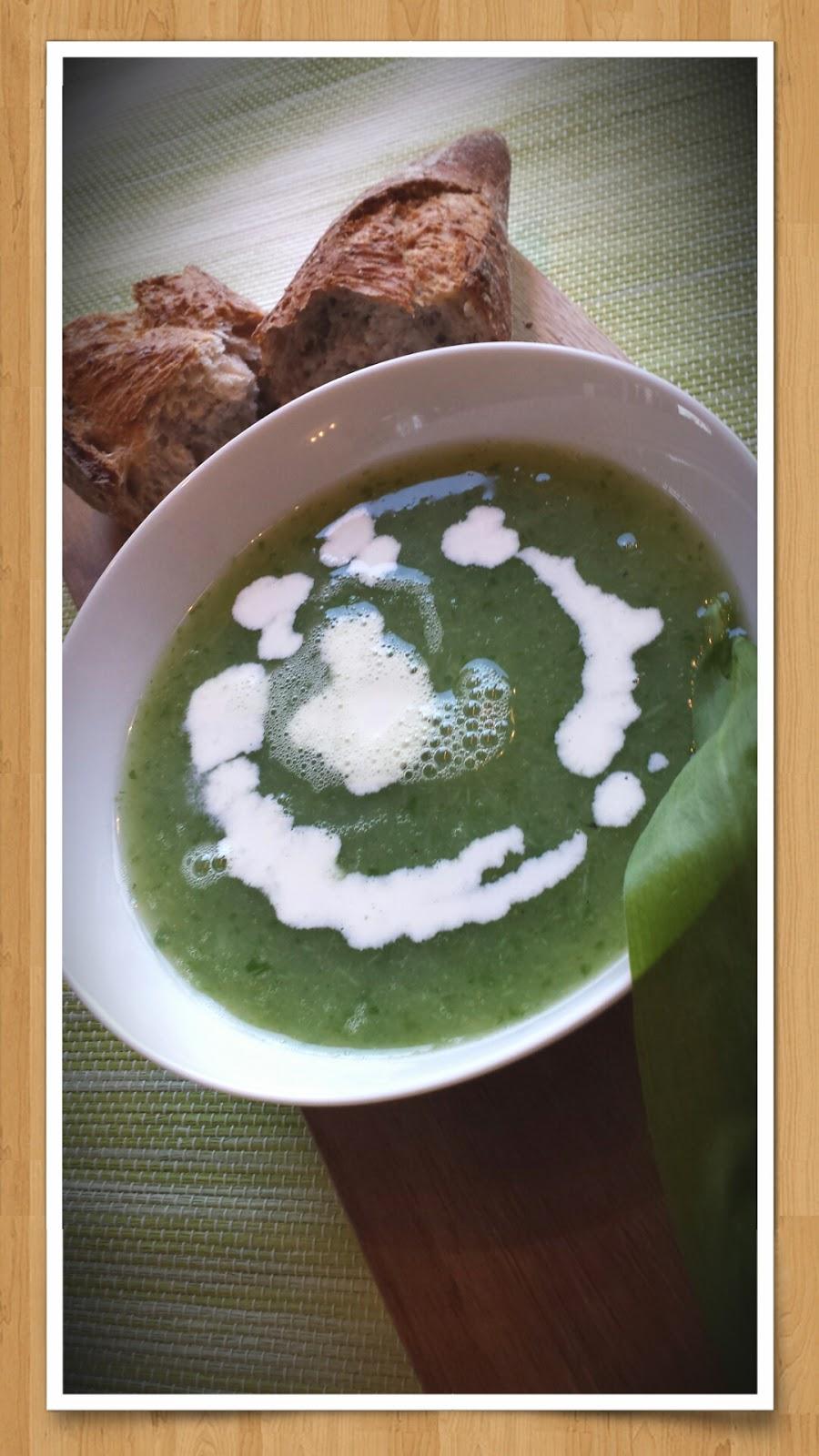 Bärlauch-Spargel Suppe