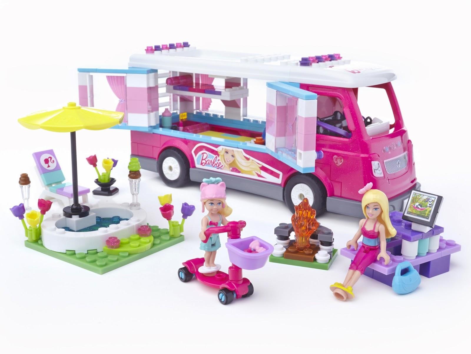 Barbie Mega Bloks Camper
