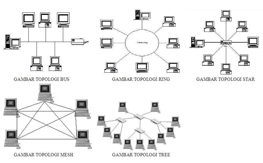 8 topologi jaringan komputer lengkap kelebihan dan kekurangannya macam topologi jaringan komputer lengkap dengan kelebihan dan kekurangannya ccuart Gallery