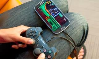 Bermain game dengan gamepad di Android