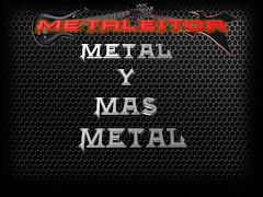 Todos los Martes y Jueves escucha METAL Y MAS METAL