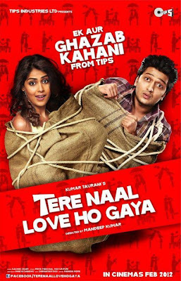 Download Tere Naal Love Ho Gaya DVD Rip Bollywood Movie Free Poster