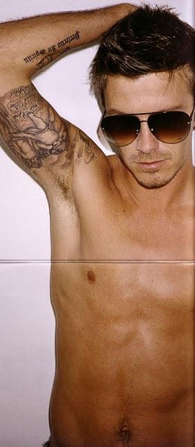 David Beckham Faux Hawk Haircuts - Classic Hairstyle Ideas for Hot Men
