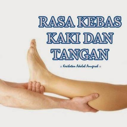 Bagaimana mengatasi kebas pada kaki dan tangan serta kekejangan otot.