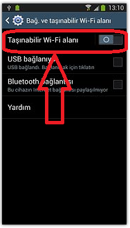 how to turn on samsung s4 hotspot
