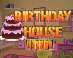 Juegos de Escape Birthday House Escape