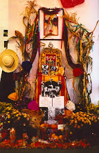 Day of the Dead Altar in Eugene for Migrant Workers in 1997