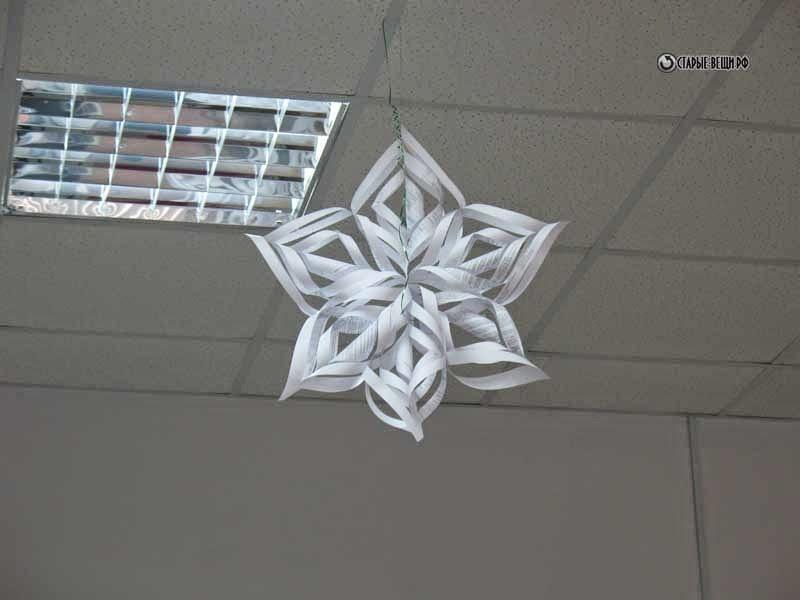 Как делать снежинки из бумаги а4 своими руками - Lumalive
