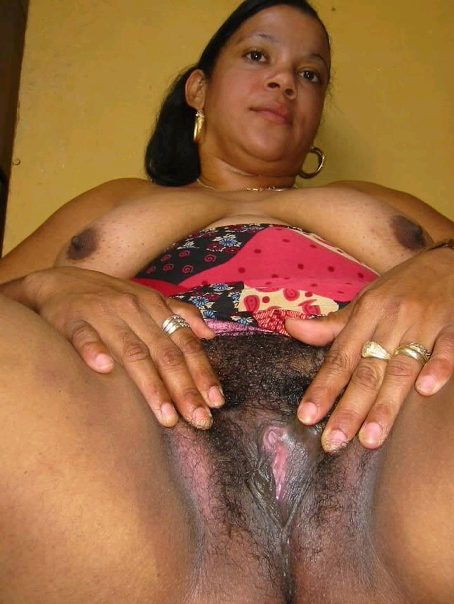 Black African Hairy Pussy