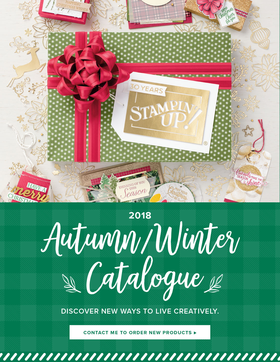 Stampin'Up! Herfst-/Wintercatalogus 2018