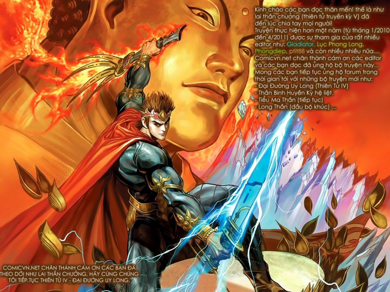 Thiên Tử Truyền Kỳ 5 - Như Lai Thần Chưởng chap 214 - Trang 1